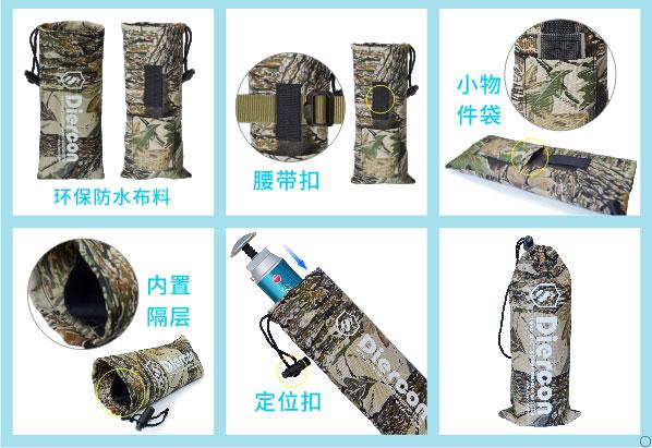 康米尔KP02军用微型净水器配送环保防水袋展示图