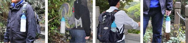 康米尔Diercon运动滤水瓶携带方式