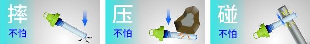 康米尔PB01救援滤水壶负压筒保护滤芯示意