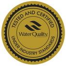 康米尔PB01救援滤水壶WQA检测证明滤出水质符合NSF 42标准